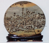 Chinese Picture Jasper Viewing Piece
