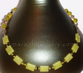 New Jade and Serpentine Necklace Style Option 2
