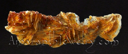 "Vanadinite from Mibladen, Khénifra Province, Morocco, 4 5/16"" x 1 3/4"""